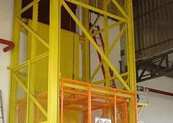 Elevador monta carga industrial comprar