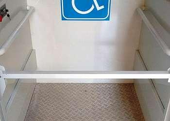 Elevador doméstico para cadeirante