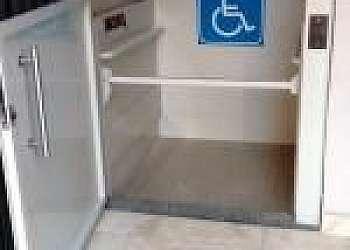 Elevador residencial para cadeirante