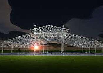 Estrutura iluminação alumínio