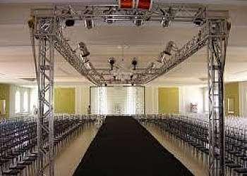 Estrutura de palco para eventos