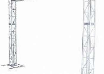 Estrutura de alumínio para tenda