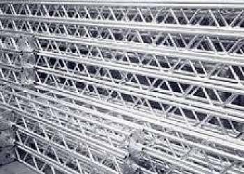 Valor de treliças de alumínio
