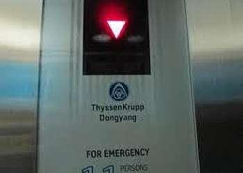 Modernização de elevadores thyssenkrupp